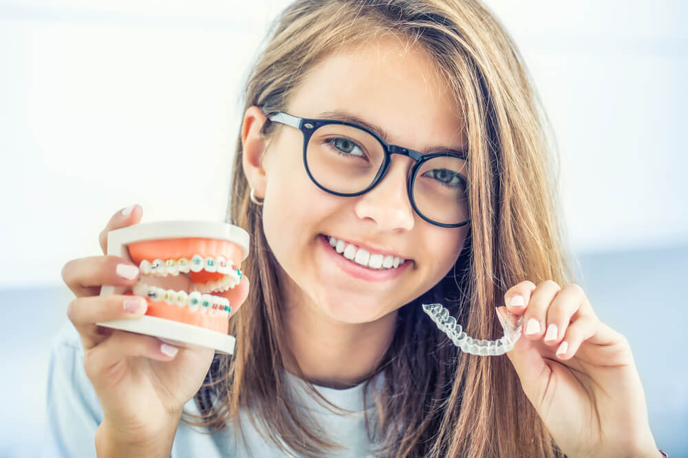 Invisalign and Orthodontics inner showing the concept of Invisalign & Orthodontics
